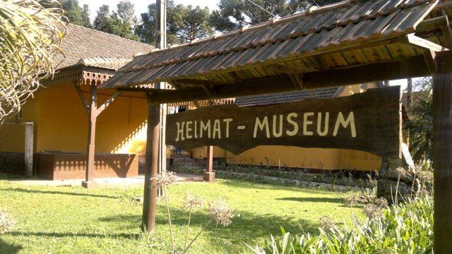 Heimat Museum em Colônia Witmarsum - Paraná.